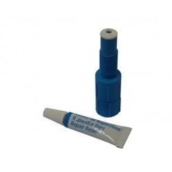 tube résine + injecteur